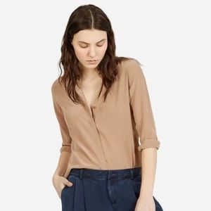 Everlane Silk Button Down Blouse